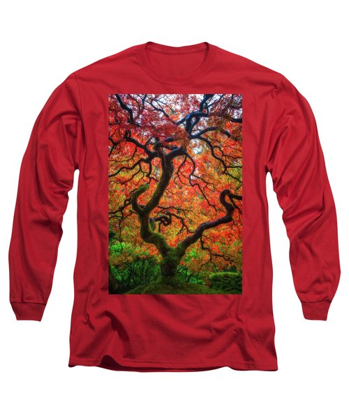 Long Sleeve T-Shirt featuring the photograph Ethereal Tree Alive by Darren White