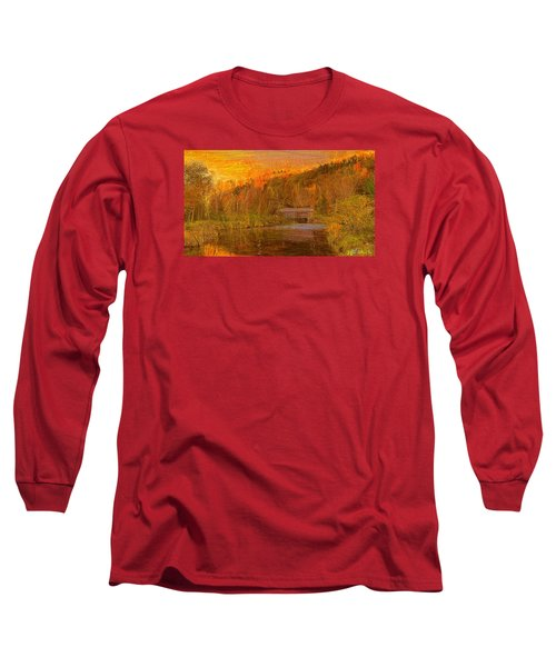 Evening Shadows II Long Sleeve T-Shirt by John Selmer Sr