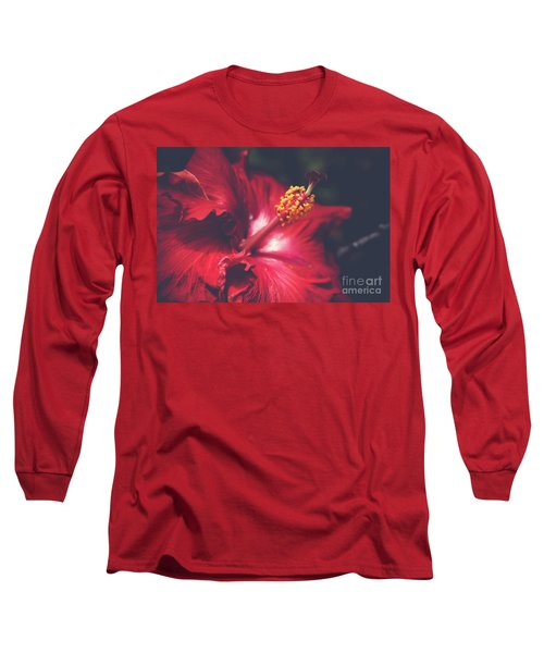 Long Sleeve T-Shirt featuring the photograph Evening Whispers by Sharon Mau