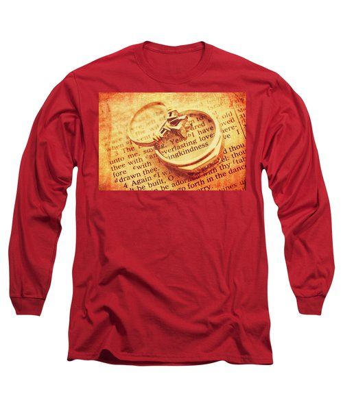 Long Sleeve T-Shirt featuring the photograph Everlasting Love by Trina Ansel