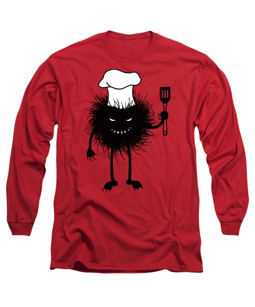 Evil Bug Chef Loves To Cook Long Sleeve T-Shirt