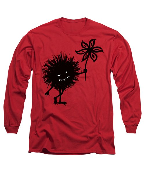 Evil Bug Gives Flower Long Sleeve T-Shirt