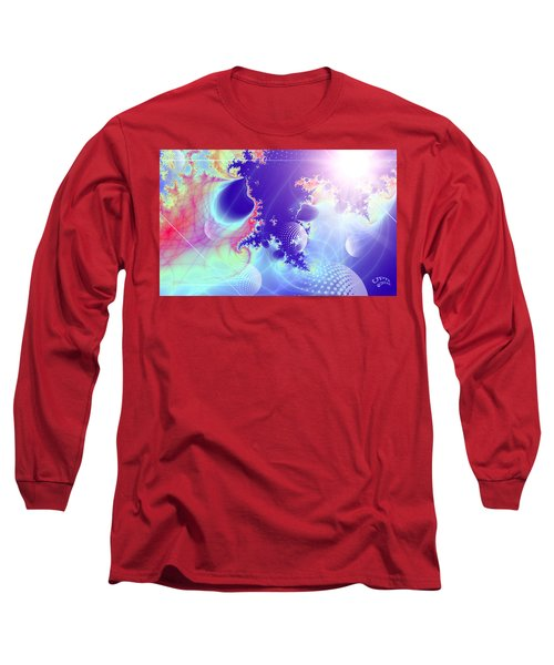 Evolving Universe Long Sleeve T-Shirt by Ute Posegga-Rudel