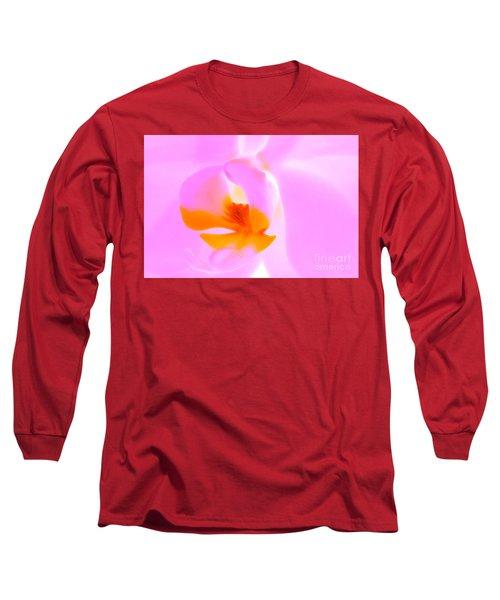 Exotic Pink Long Sleeve T-Shirt