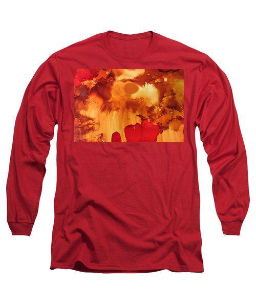 Explosion From The Galaxy Long Sleeve T-Shirt