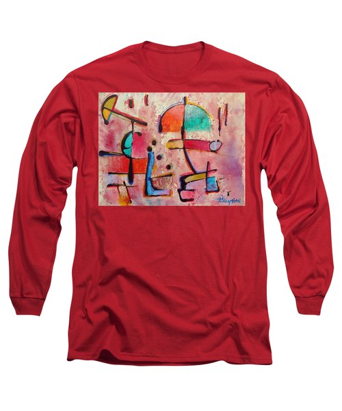 Expression # 12 Long Sleeve T-Shirt by Jason Williamson