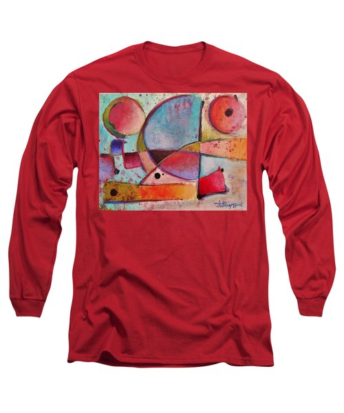 Expression # 13 Long Sleeve T-Shirt by Jason Williamson