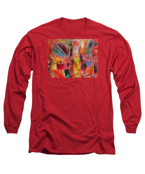 Expression # 8 Long Sleeve T-Shirt by Jason Williamson