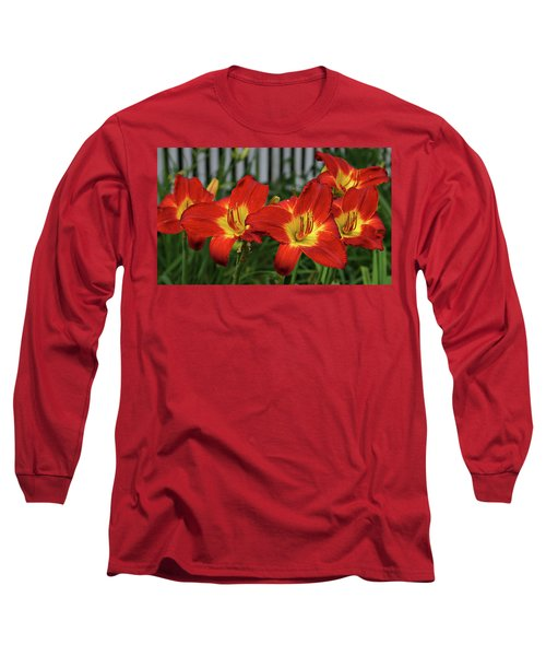 Long Sleeve T-Shirt featuring the photograph Eye Catching by Sandy Keeton
