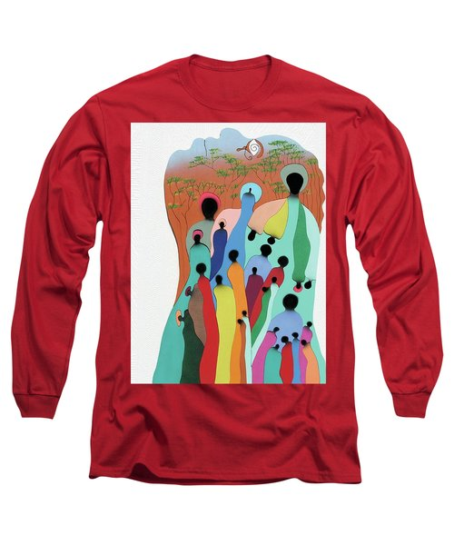 Eye Of The Spirit Long Sleeve T-Shirt