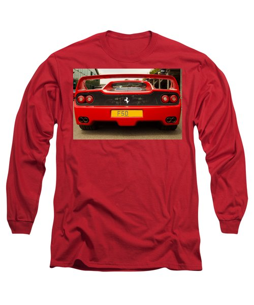F50 Tail Long Sleeve T-Shirt
