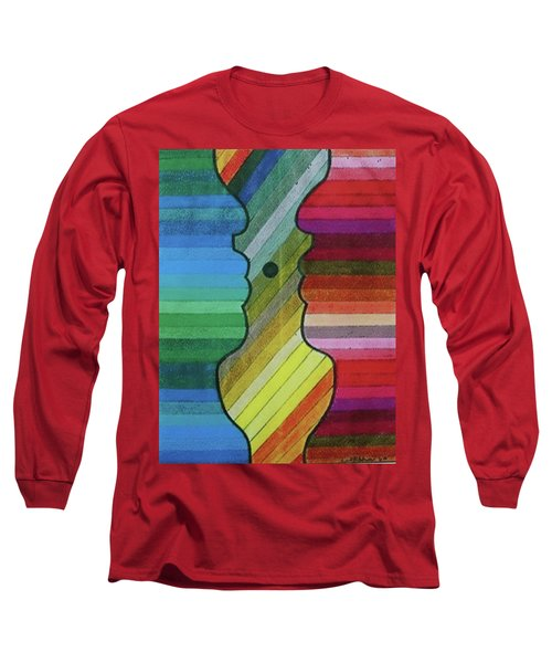 Faces Of Pride Long Sleeve T-Shirt