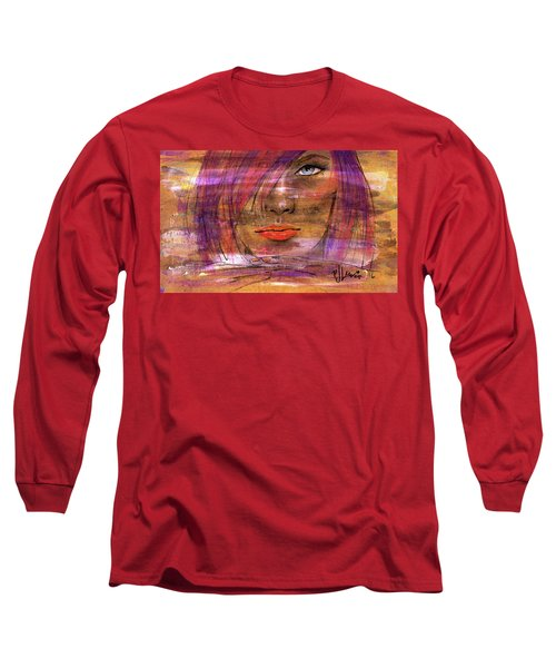 Fadding Away Long Sleeve T-Shirt by P J Lewis