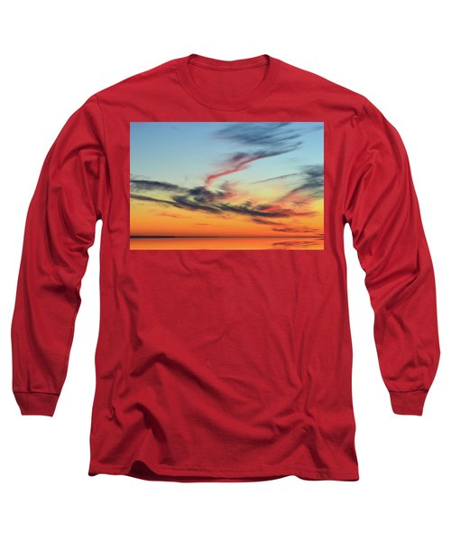 Fading Pink Reflection  Long Sleeve T-Shirt