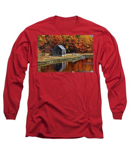 Fall At Rye Long Sleeve T-Shirt