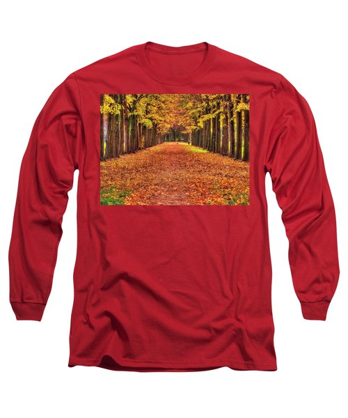 Fall Colors Avenue Long Sleeve T-Shirt
