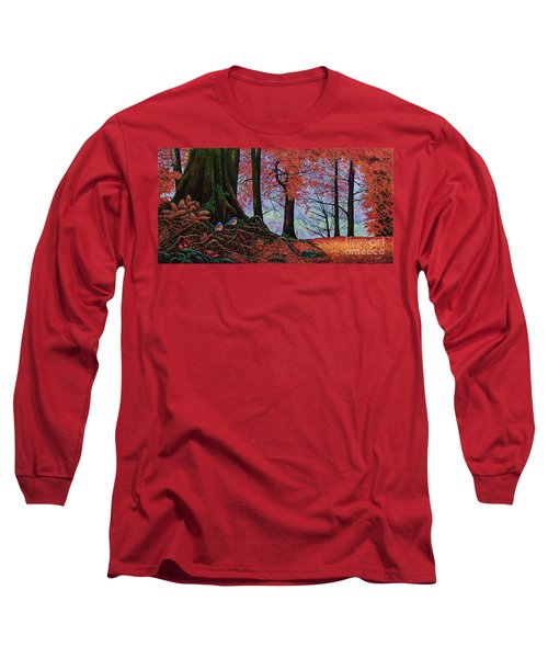 Fall Colors II Long Sleeve T-Shirt by Michael Frank