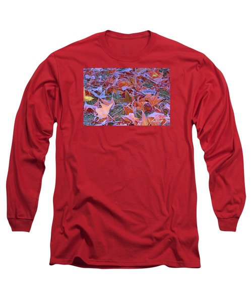 Long Sleeve T-Shirt featuring the photograph Fall Into Winter by Patrick Witz