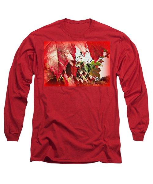 Fall Leaves #10 Long Sleeve T-Shirt