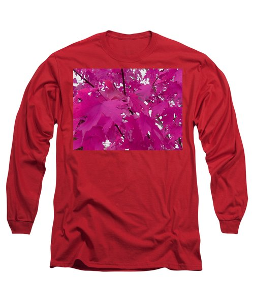 Fall Leaves #5 Long Sleeve T-Shirt
