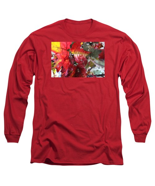 Fall Leaves Design 4 Long Sleeve T-Shirt