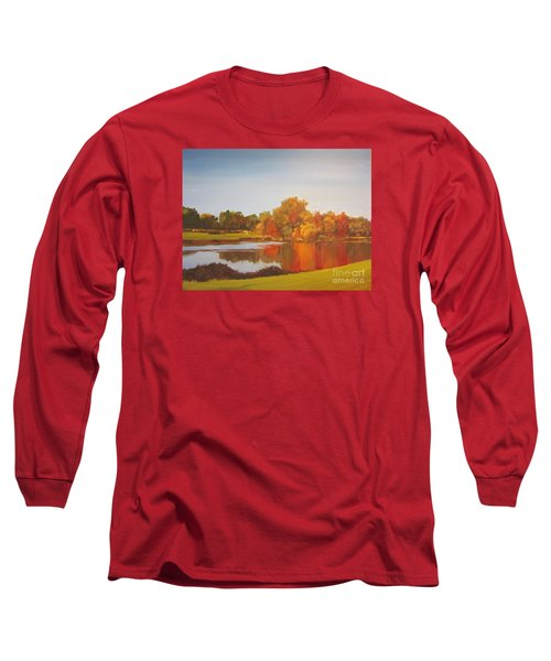 Fall Perfection Long Sleeve T-Shirt by Elizabeth Carr