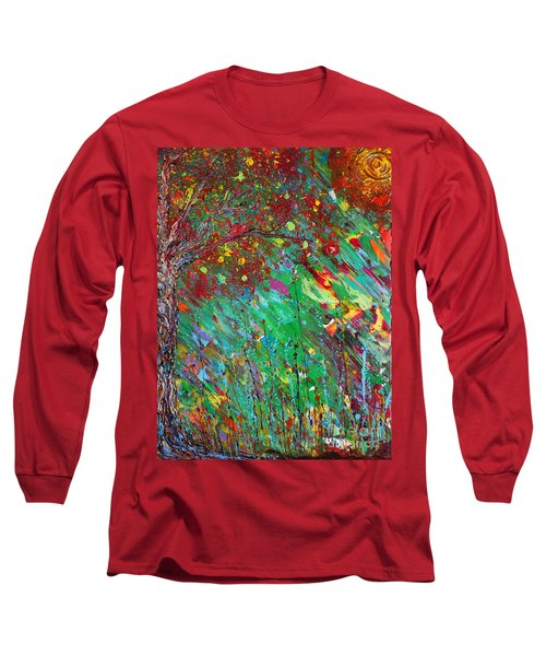 Fall Revival Long Sleeve T-Shirt by Jacqueline Athmann