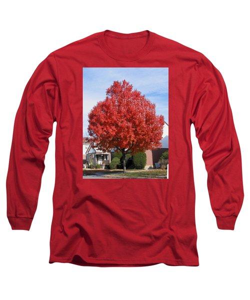 Long Sleeve T-Shirt featuring the photograph Fall Season by Suhas Tavkar