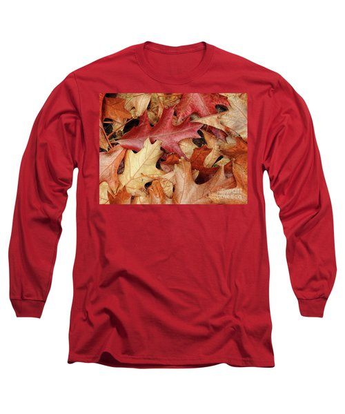 Long Sleeve T-Shirt featuring the photograph Fallen by Peggy Hughes