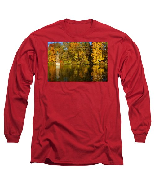 Falls Park Lighthouse In Fall Long Sleeve T-Shirt