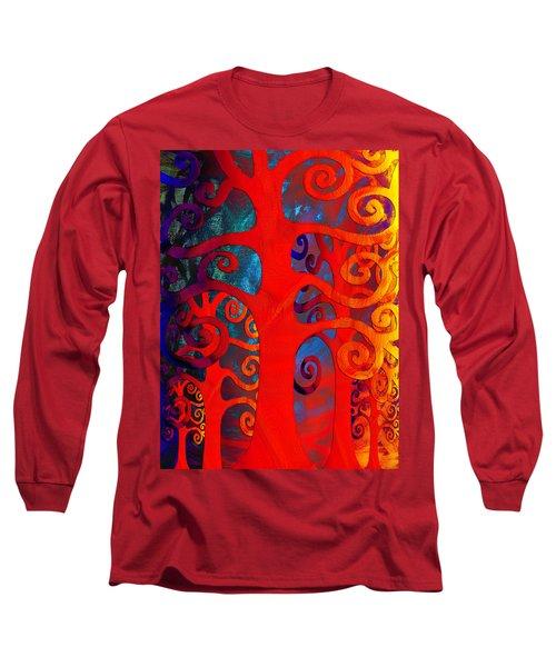 Family  Long Sleeve T-Shirt by Angelina Vick