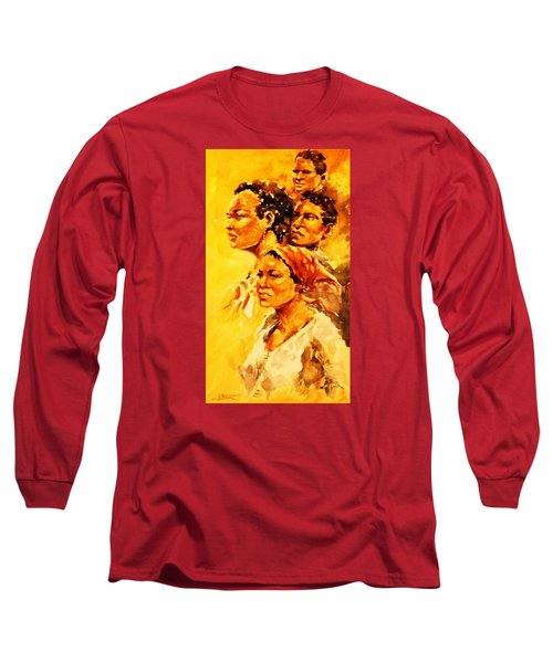 Family Ties Long Sleeve T-Shirt by Al Brown
