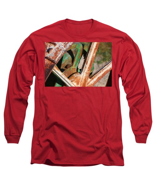 Long Sleeve T-Shirt featuring the photograph Farm Equipment 2 by Ely Arsha