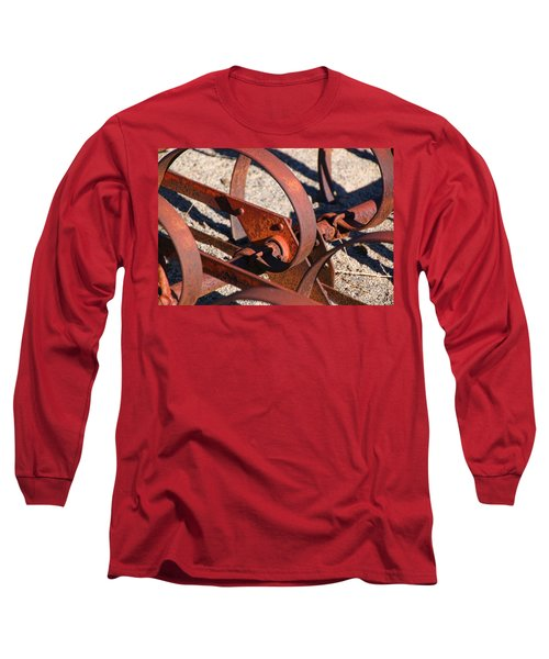 Long Sleeve T-Shirt featuring the photograph Farm Equipment 4 by Ely Arsha