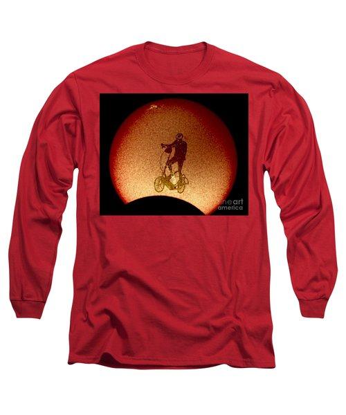 Feel The Burn, Elliptigo Eclipse Long Sleeve T-Shirt