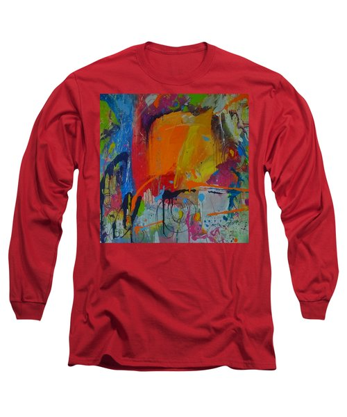 Feeling Melancholy Long Sleeve T-Shirt by Terri Einer