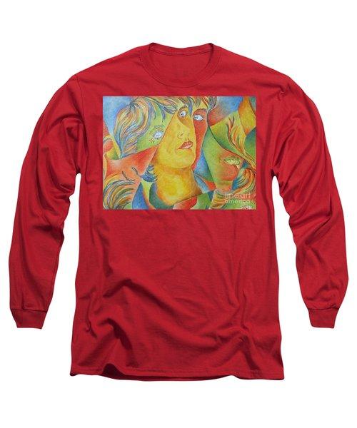Femme Aux Trois Visages Long Sleeve T-Shirt
