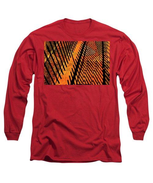 Fenced Framework Long Sleeve T-Shirt