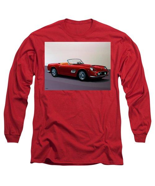 Ferrari 250 Gt California Spyder 1957 Painting Long Sleeve T-Shirt