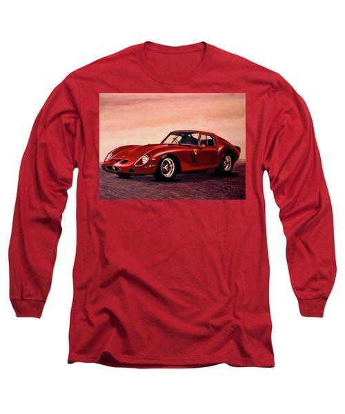 Ferrari 250 Gto 1962 Painting Long Sleeve T-Shirt by Paul Meijering