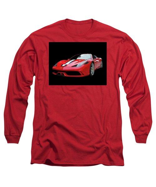 Ferrari 458 Speciale Aperta Long Sleeve T-Shirt
