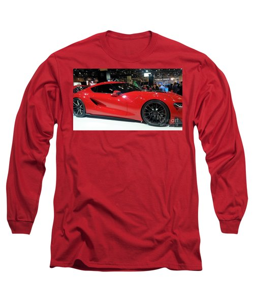 Red Ferrari Long Sleeve T-Shirt
