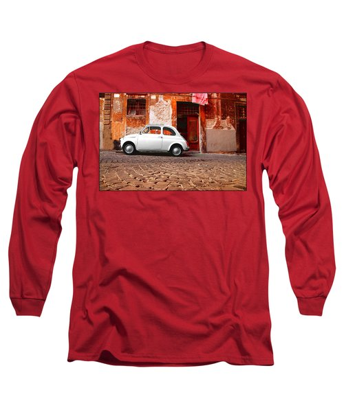 Fiat 500 Long Sleeve T-Shirt by Valentino Visentini