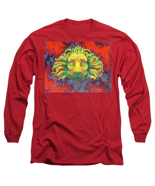 Fidardo's Lion Long Sleeve T-Shirt by Andrew Danielsen