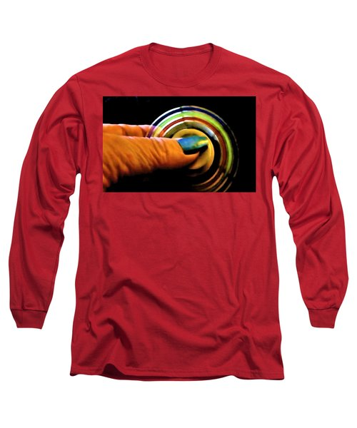Long Sleeve T-Shirt featuring the photograph Fidgets by Denise Fulmer