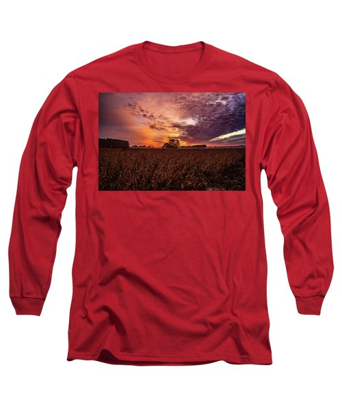 Field Of Beans Long Sleeve T-Shirt