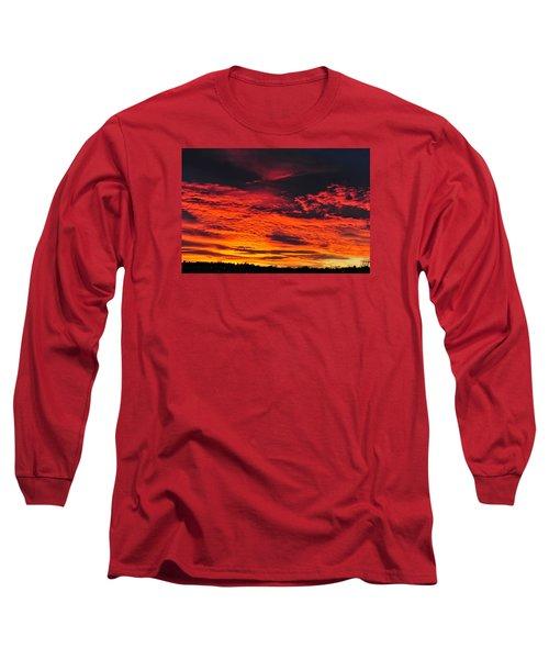 Fiery Close Of Day Long Sleeve T-Shirt