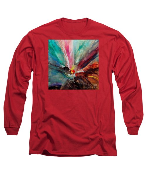 Long Sleeve T-Shirt featuring the painting Fiesta  by Dragica  Micki Fortuna