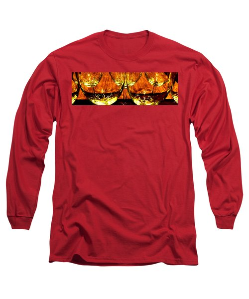 Fine Wine And Dine 3 Long Sleeve T-Shirt