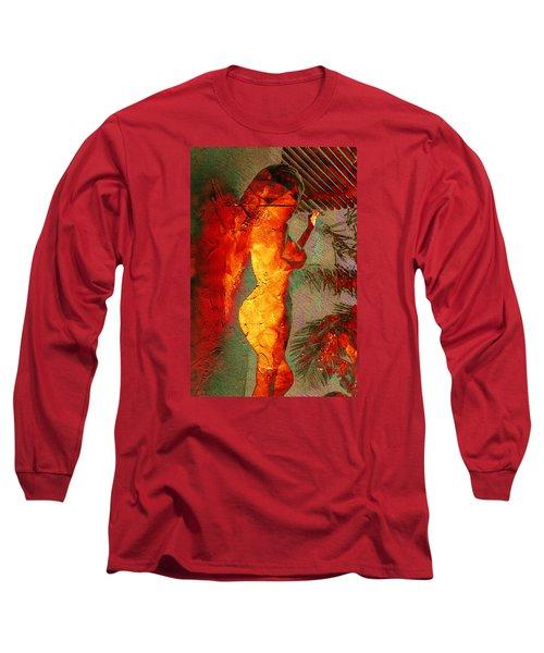 Fire Angel Long Sleeve T-Shirt